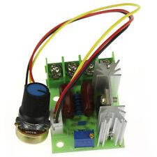 AC 220V SCR Elettrico Regolatore Di Tensione Motore velocità 2000W Controllore
