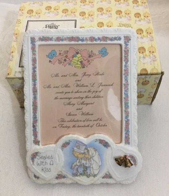 Precious Moments Wedding Invitation Plaque 248797
