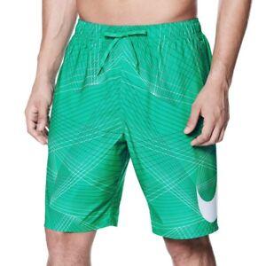 be60e02897 Mens Size XL Nike Green Swimsuit Swimming Trunks Swim Shorts