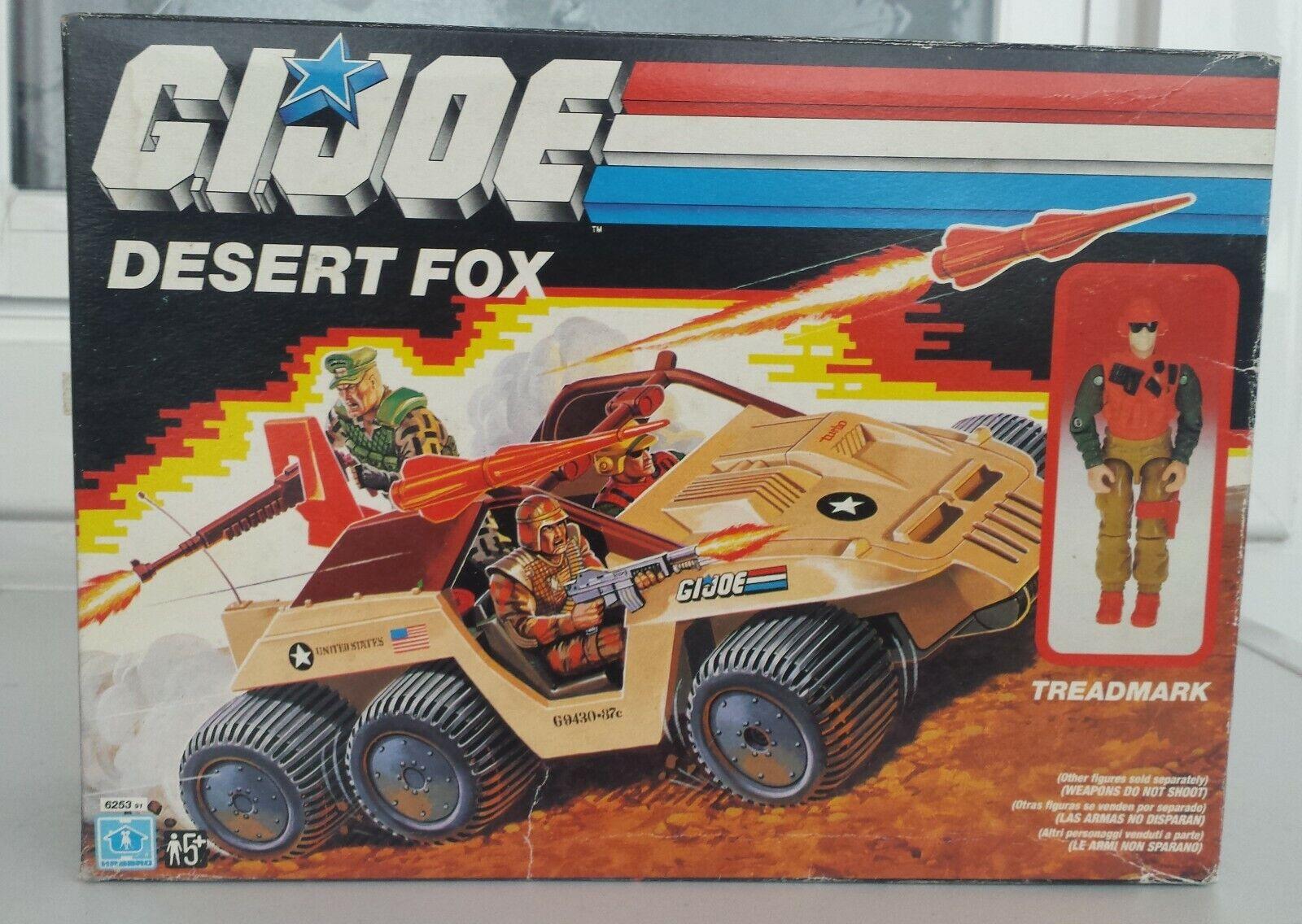 GI JOE DESERT FOX. GIJOE.
