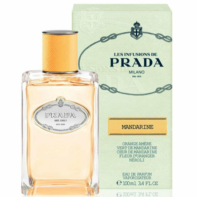 Prada Les Infusions De Mandarine 100ml EDP Spray Unsealed Box Womens Perfume