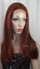 LACE FRONT DAHLIA Wig from Sepia/West Bay .. color 130 - Fox Red!  HOT! *