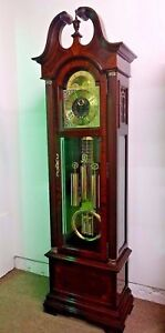 Pre-Owned-Howard-Miller-610-317-Thomas-Jefferson-Ltd-Edition-Grandfather-Clock