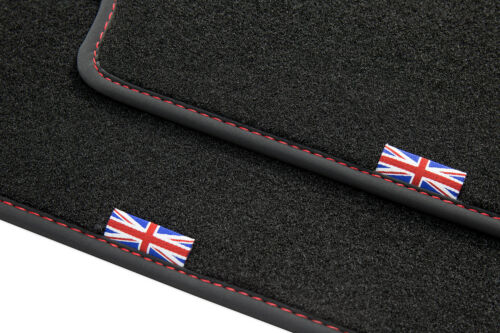 Bj X350 2003-2009 Exclusive Union Jack Fußmatten für Jaguar XJ