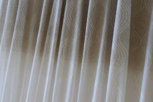 Tende Per Interni Color Tortora : Tessuto per tenda a metro colore tortora con disegno ad onde art
