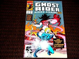 1991-9.2 COMIC ORIGINAL GHOST RIDER RIDES AGAIN # 5