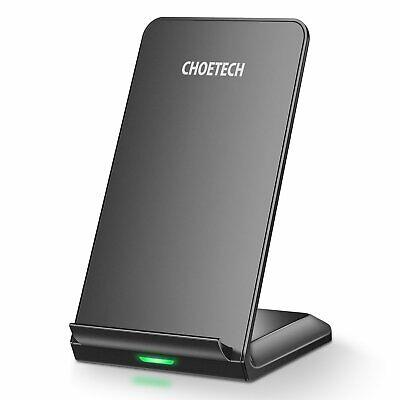 CHOETECH Caricatore Wireless Doppio, Qi Caricabatterie