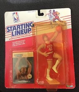 1988 Mike Gminski Philadelphia 76ers Kenner NBA Starting Lineup SLU MOC 88 New
