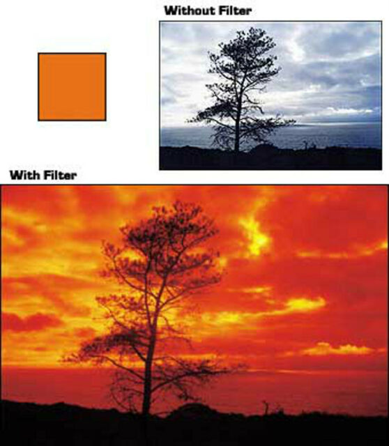 Cokin 002 A002 Orange Filter  A Series  for Black & White Photos  Brand New