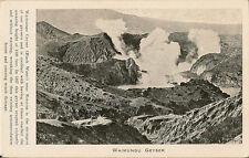 ROTORUA (new Zealand) : Waimungu Geyser -PRATT:
