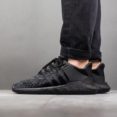 Adidas EQT 93/17 size 12.5. Triple Black . BY9512. Primeknit. ultra boost nmd 4058025401582   eBay