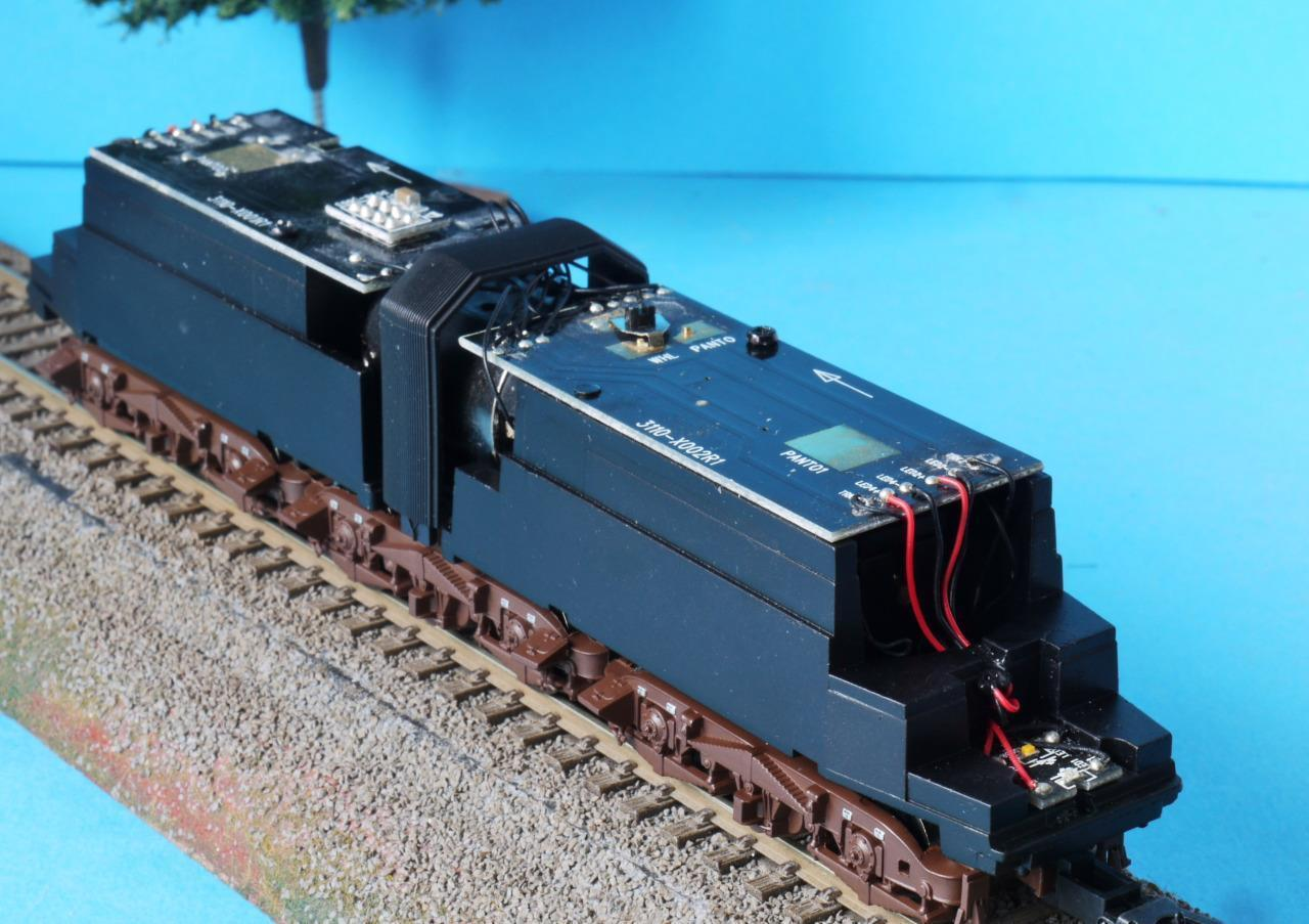 NEW RIVAROSSI HRS2448 MOTORISED CHASSIS ARTICULATED + PANTOGRAPHS SPARES REPAIR