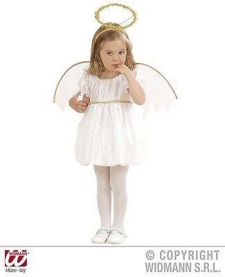 Costume Angioletto Bambina Taglia 1/2 Anni Anni - 12/24 Mesi Tieniti In Forma Per Tutto Il Tempo