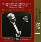Beethoven - Symphony No 8 Piano Concerto No. 5 Audio CD