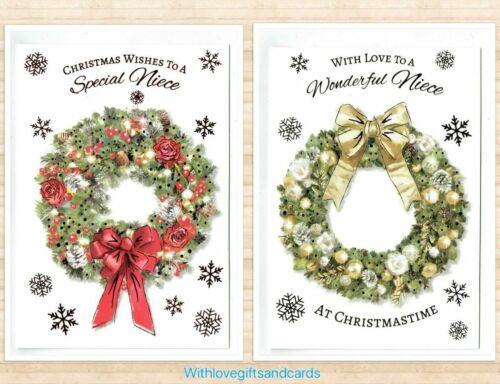 Niece Christmas Cards Choose Form 2 Designs