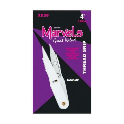 Scissors XE59 10cm//4inch sewing//craft  Free UK P/&P Janome Marvels Thread Snips