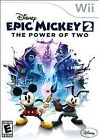 Disney Epic Mickey 2: The Power of Two (Nintendo Wii, 2012)