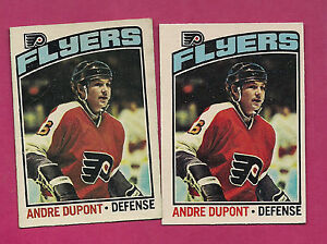 2-X-1976-77-OPC-131-PHILADELPHIA-FLYERS-ANDRE-THE-MOOSE-DUPONT-CARD-INV-1960