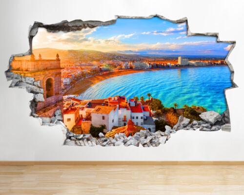 Maison Ciel Ocean Vacances City Applique Smashed Bb487 Murale Plage c5L4SRjqA3