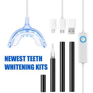 3 in 1 DIY Home Teeth Whitening Kit Bleaching Gel Tray ...