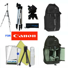 "50""  PRO PHOTO TRIPOD + BACKPACK for Canon Eos Digital Rebel SL1 T5i XTi T5 T3"