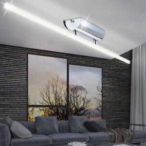 12W LED Design Decken Leuchte Wohnzimmer Chrom ALU Lampe Büro Flur ...