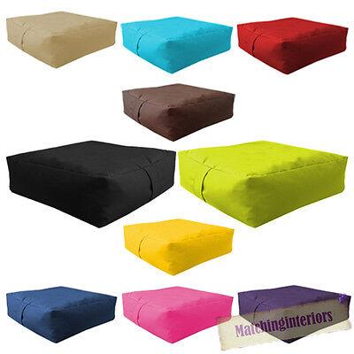 Waterproof Bean Bag Slab Outdoor Indoor Garden Cushion Seat Furniture Multipacks