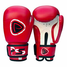 New 1 Pair of Youth Black 6oz Boxing Gloves Rex