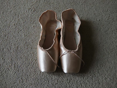 Satén Rosa Liberado Manon Opera 3 Pointe Shoes-Varios Tamaños