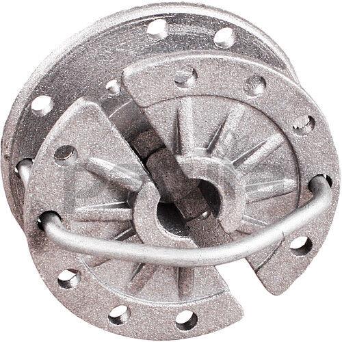 PATURA rotierender Spanner Alu für Stahldraht 25 Stück