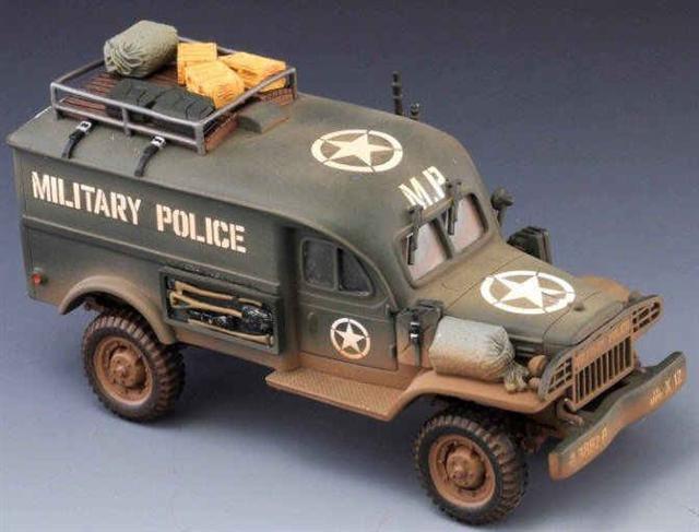 THOMAS GUNN WW2 WW2 WW2 AMERICAN USA001A DODGE M.P. WAGON NORMANDY MIB e3ca3c