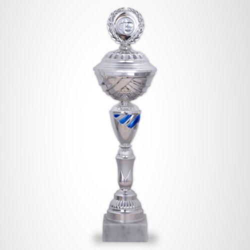 8er Pokalserie KANSAS GROSSE POKALE XXL Pokale mit Gravur günstig kaufen BLAU
