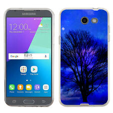 TPU Phone Case for Samsung Galaxy J3 Prime / Amp Prime 2 - Night Tree