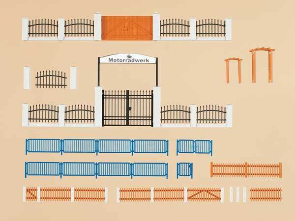 Auhagen kit 42648 NEW HO FENCES /& GATES