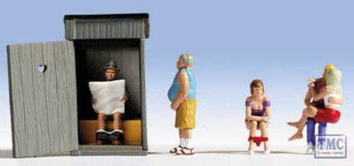 N36560 Noch N Scale Toilet Stories