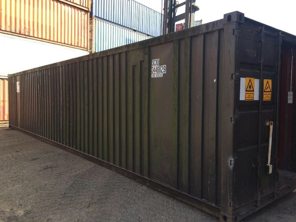 Container, lagercontainer 20 fods eller 40 fods