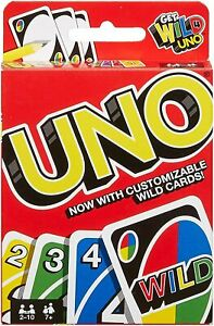 Mattel-Uno-Sauvage-Famille-Amusant-Classique-Carte-Jeu-Uno-Cartes-Set