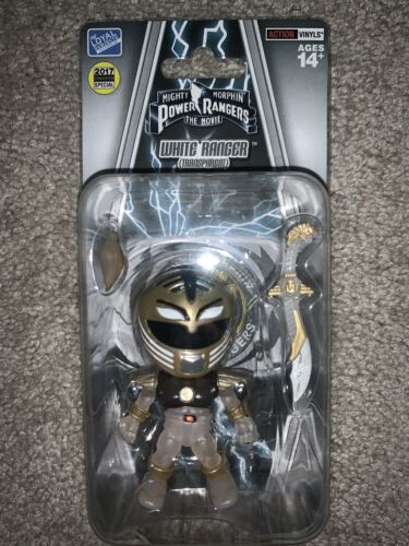 The Loyal sujets Mighty Morphin Power Rangers Power Rangers SDCC 2017 Excl Blanc Transparent Ranger