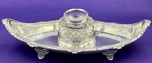 Sterling-silver-desk-inkwell-London-1901
