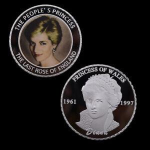 Commemorative-Souvenir-Coin-Princess-Diana-Silver-Coins-for-Holiday-Collection