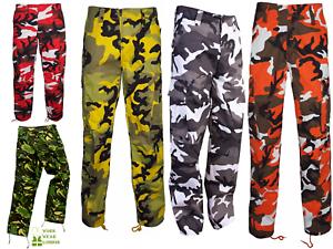 US Camoflage CAMUFLAGE dell/'Esercito Britannico Militare Pantaloni Cargo Pantaloni