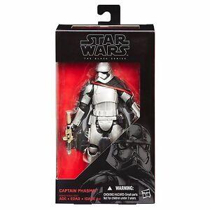 CAPTAIN PHASMA Black Series 6-Inch Figure Star Wars E7 TFA NIB
