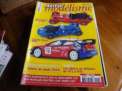 Auto Modelisme 90 Salon Du Jouet 2004, Daytona 1/12, Alfa 8c, Très Bon état