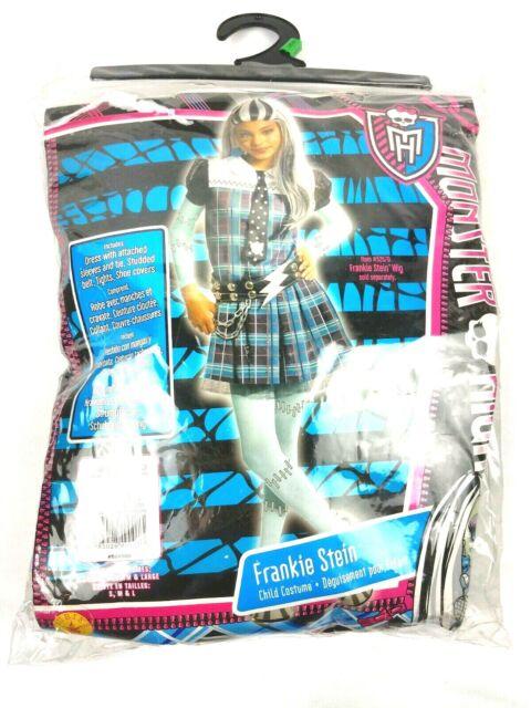 Monster High Frankie Stein Halloween Costume - Large - NEW
