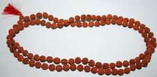 6 M.M.. Very small and rare Rudraksha mala of 108+1 Hindu prayer beads