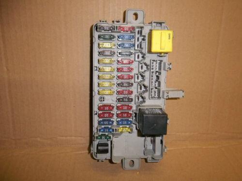 ROVER 45 99-04//MGZS 01-04 INTERNAL//UNDER DASH FUSEBOX//FUSE BOX YQE000070