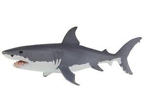 GREAT WHITE SHARK Replica 200729 ~ NEW 2016 Ships Free/USA w/ $25+ SAFARI Items