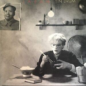 JAPAN    TIN DRUM - - Rare 1981 Australian 12
