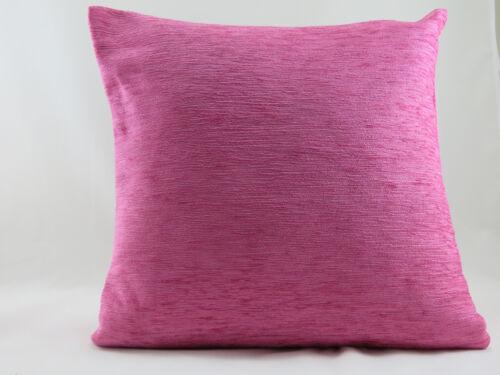 De luxe rose doux chenille evans lichfield coussin couverture