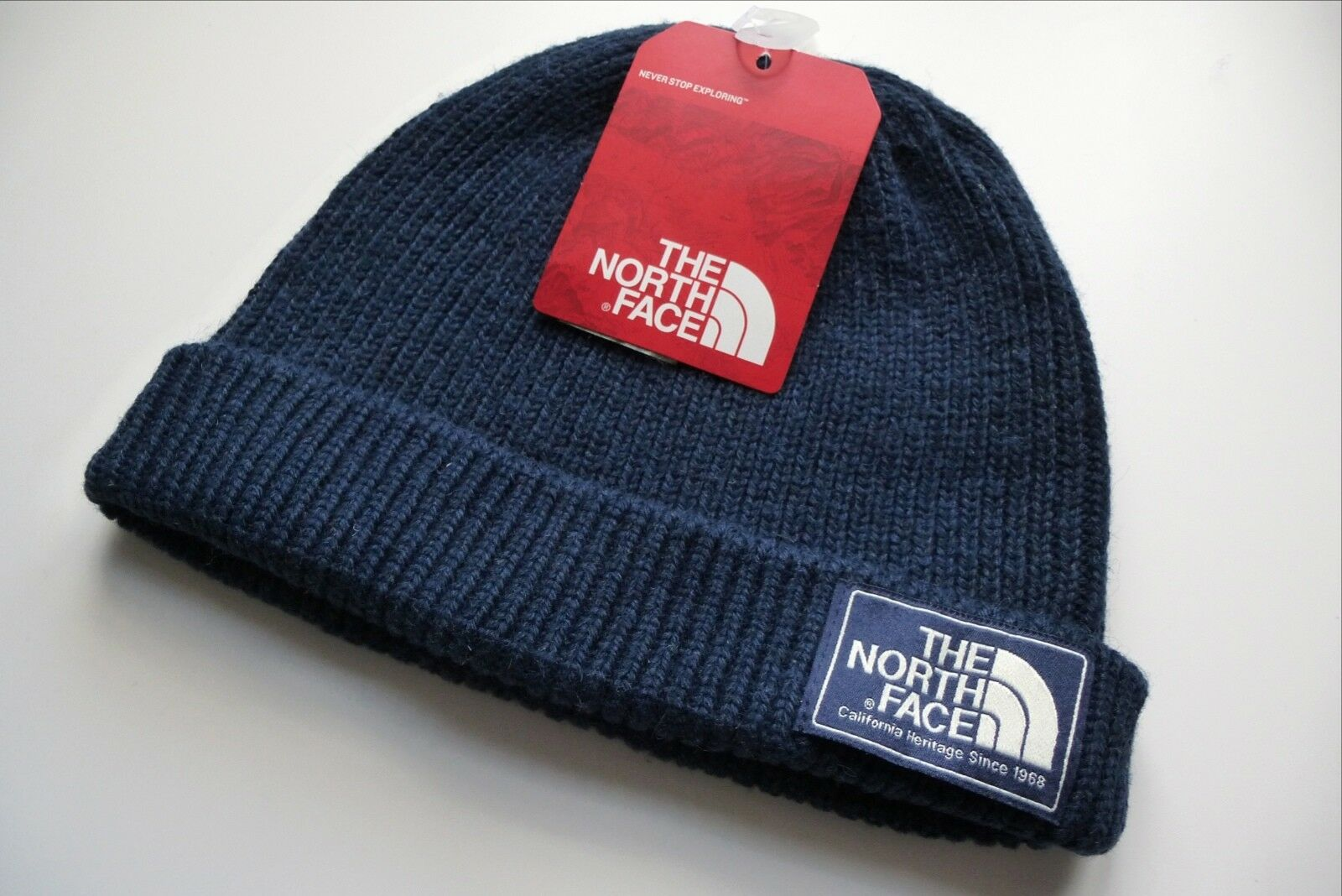 Brand New THE NORTH FACE Navy SHIPYARD BEANIE Hat Toque OSFA UNISEX NF40